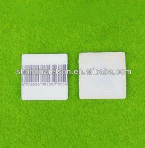 Barcode Soft Tag EAS RF Paper Label 30*30mm pictures & photos