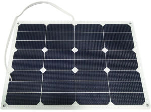 Lowest Light Weight Sunpower Flexible Solar Panel with ETFE Technolgy pictures & photos
