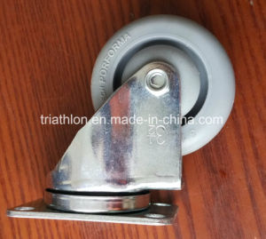 "3.5"" 4"" Middle Duty Swivel TPR TPE TPU Casters pictures & photos"
