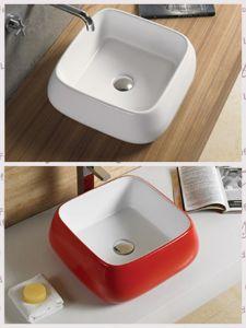 Family Lavatory Cabinet Ceramic Washing Basin (30059) pictures & photos