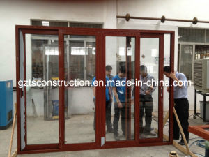 120series Aluminum Sliding Door with Fly Screen Netting pictures & photos