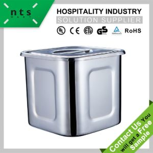 Bucket with Lid for Hotel and Restaurant Kitchen Utensils pictures & photos