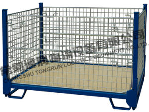 Metal Storage Cage for Warehouse Swk8002 pictures & photos