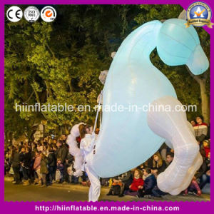 White Inflatable Horse /Inflatable Horse Costume