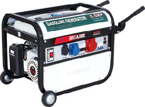 HH2800-B07 Italy Design Three Phase Gasoline Generator with CE (2KW-2.8KW) pictures & photos