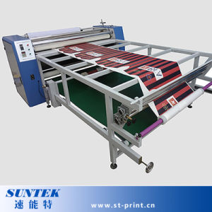 Large Format Roller Style Sublimation Heat Transfer Machine for Ployester Fabric pictures & photos