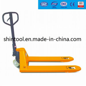 Manual Pallet Truck with Casting Pump Sba-E pictures & photos
