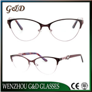 New Glasses Eyewear Optical Metal Frame for Woman Tb3772 pictures & photos