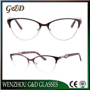 New Glasses Eyewear Optical Metal Woman Frame pictures & photos