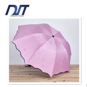 Black Plastic Water Umbrella Wave Edge Umbrella Creative Arch Umbrella pictures & photos