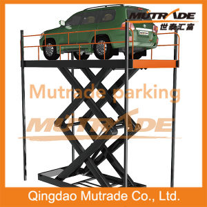 Hydraulic Cylinders High Speed Car Hoist Lifting Platform pictures & photos