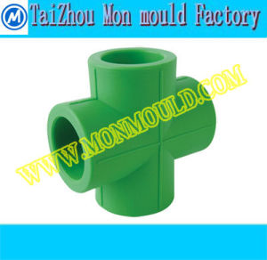 PPR Tee Cross Pipe Fitting Mold pictures & photos