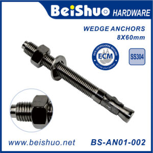 Concrete Wedge Anchor Bolts with Nuts & Washers pictures & photos