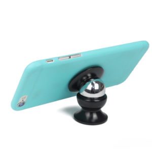 Universal Stick on Dashboard Magnetic Car Mount Holder for Cell Phones and Mini Tablets with Fast Swift-Snap