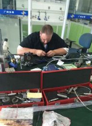 Flexible Endoscope Repair Training for American pictures & photos