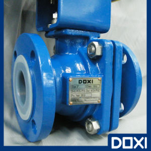"2"" Semi-Conductive One-Piece Ball Valve pictures & photos"