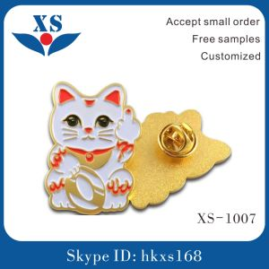 Wholesale Gold Plating Customized Metal Badge pictures & photos