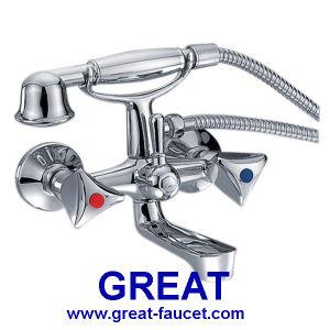 EU Style Bathroom Shower Bath Faucet pictures & photos