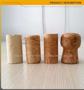 750ml Dark Green Cork Top Burgundy Glass Wine Bottle (007) pictures & photos