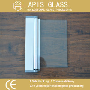 3mm/4mm/5mm/6mm/8mm/10mm/12mm Plian Shower Door Tempered /Toughened Glass with Grooves/Notche/Holes/Hinges pictures & photos