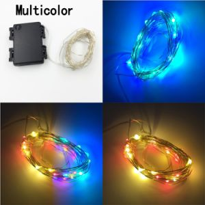 Outdoor Dimmable LED String Lights, 100 LEDs Twinkle Lights 33 FT Copper Wire Lights pictures & photos