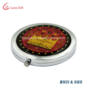 Beauty Handhold Chinese Style Makeup Mirrors pictures & photos
