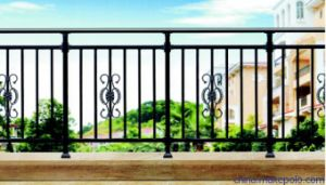 Beautiful Decorative Vintage Wrought Iron Balcony Railings pictures & photos