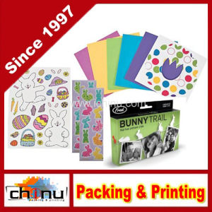 Stickers and Bunny Hanging Set with Picture Clips (440034) pictures & photos