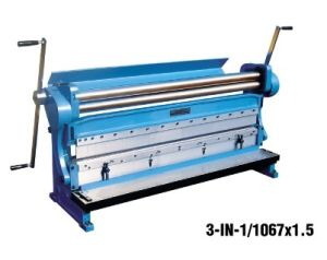Multi Purpose Machine (Shearing rolling bending machine 3-IN-1/1320X1.5 3-IN-1/1067X1.5) pictures & photos
