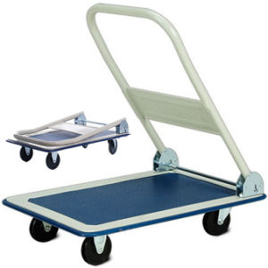 Folding Handle Platform Cart Trolley pictures & photos