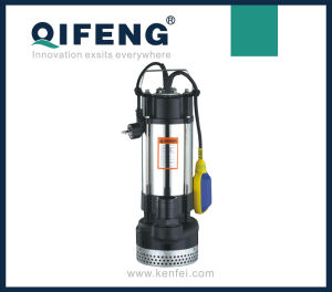 High Head Multistage Stainless Steel Submersible Sewage Pump pictures & photos