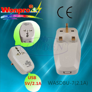 2.1A USB Charge with UK Plug pictures & photos