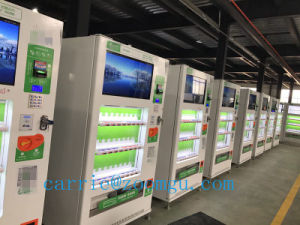 Large Capacity Cold Drink Automatic Vending Machine with Player pictures & photos
