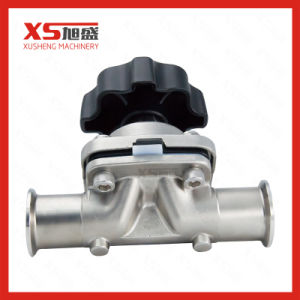 SS316L Stainless Steel Hygienic Manual Diaphragm Valves pictures & photos