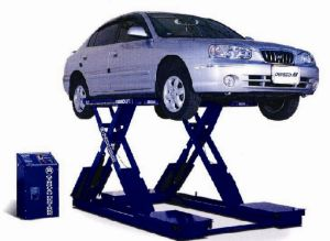 Four Wheel Alignment Scissor Car Lift Suitable Dsls707