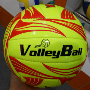 Made in China Custom Logo Promotion Machine-Sewn Volleyball pictures & photos