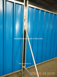 Temporary Steel Hoarding Panel, Color Fence Panel pictures & photos