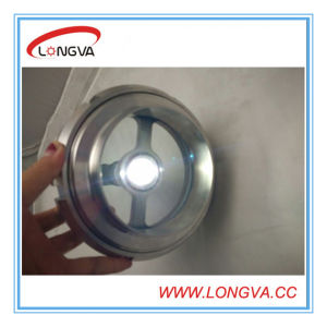Stainless Steel Tank Sight Glass with LED Light pictures & photos