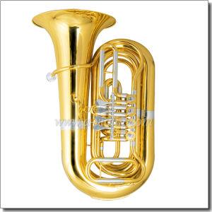 3/4 Bb Key Yellow Brass Piston Lacquer Finish Tuba (TU220G) pictures & photos