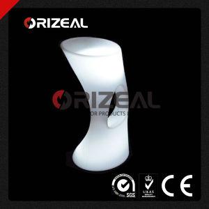 Mobile Glow Illuminated LED Ergonomic Bar Stool (OZ-LF-2008) pictures & photos