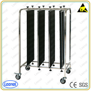 Stainless Steel Antistatic Function ESD PCB Cart pictures & photos