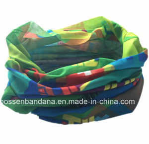 Custom Produce OEM Elastic Multifunctional Red Buff Headwear pictures & photos