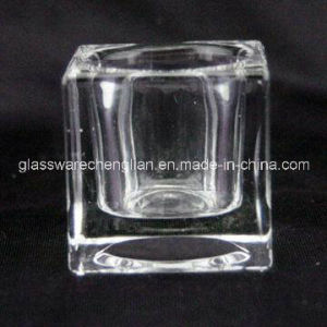 Machine-Pressed Tealight Glass Candle Holder (ZT-053) pictures & photos