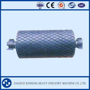 Conveyor Roller with Rubber Surface / Conveyor Pulley pictures & photos
