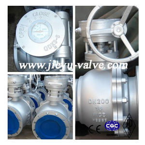 Pn16 Dn200 Wcb/Gp240gh Floating Ball Valve pictures & photos