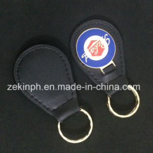 Metal Custom Leather Key Chain for Gift pictures & photos