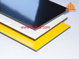 Aluminum Composite Materials / High Gloss Acm / Acm Panels / 9005 Jet Black pictures & photos