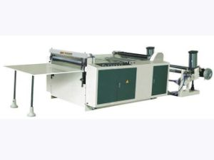 Rtml-800 Nonwoven Fabric Bag Rolls Cross Cutter Machine pictures & photos