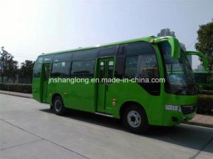 7.5 Meters Double Doors 29 Seats City Bus with Cummins Engine (front) pictures & photos