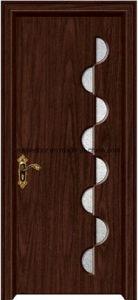 Asia Latest Design PVC Interior Wooden Doors (EI-P155) pictures & photos